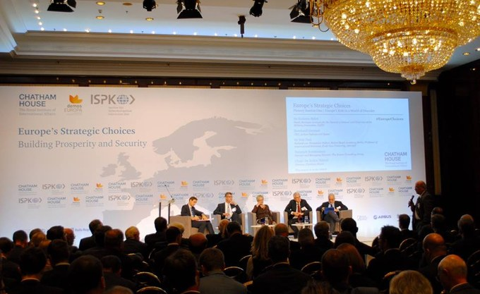 Plenary Session One: Europe's Role in a World of Disorder