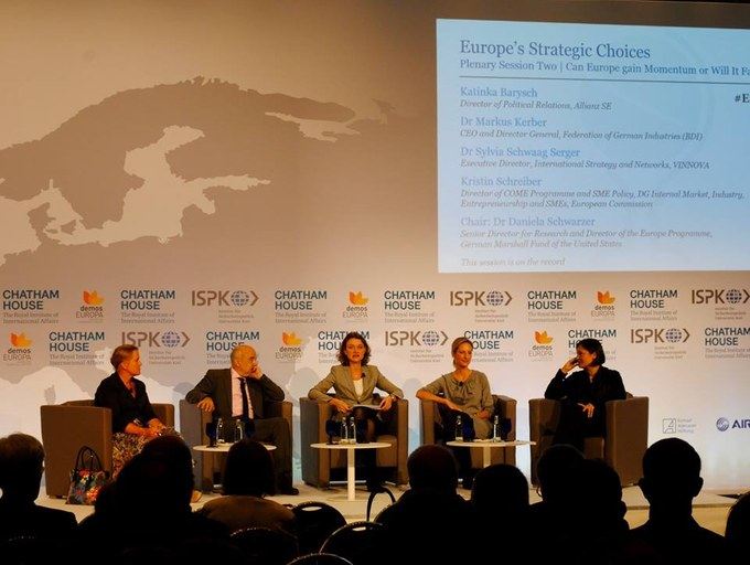 Plenary Session Two: Can Europe Gain Momentum or Will It Fall Behind?