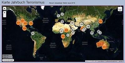 Karte Jahrbuch Terrorismus