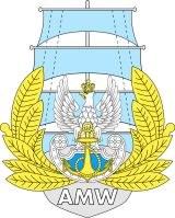 Logo AMW poln Naval Akademie