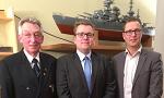 """ausgelagertes Foto von Vortrag Sebastian Bruns Neujahrsempfang """"Admiral Hipper"""""""