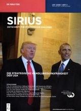 Cover Sirius 2017 Bd 1 Heft 3