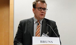 ausgelagertes Foto von Sebastian Bruns Keynote Speech at Maritime Convention, Berlin